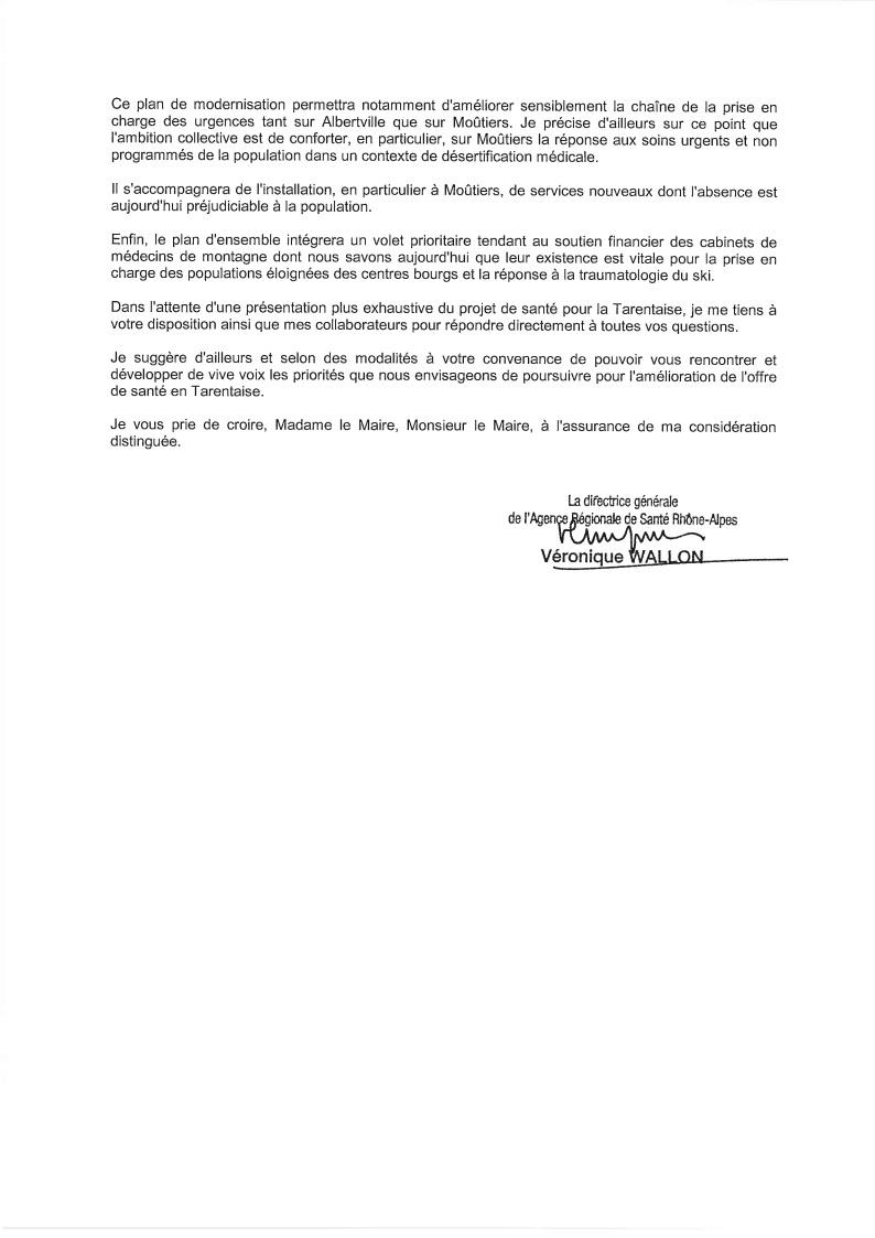 2014-10-14 - Courrier de l'ARS aux maires de Tarentaise 2-2