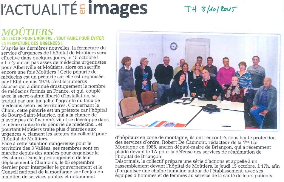 2015-10-08 - La Tarentaise Hebdo