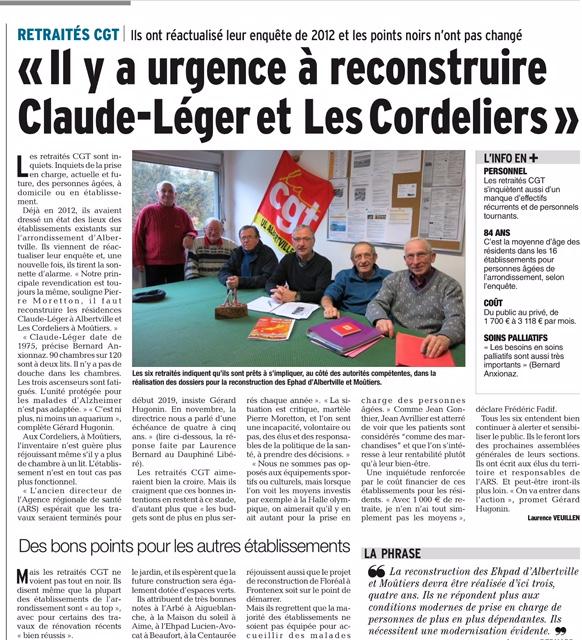 2017-02-10 - DL - Il y a urgence à reconstruire Claude-Léger et Les Cordeliers